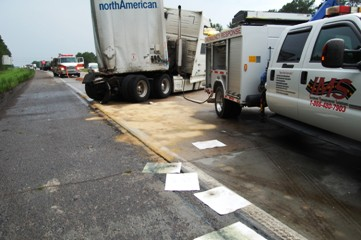 hydraulic fluid-spill cleanup i95 sc